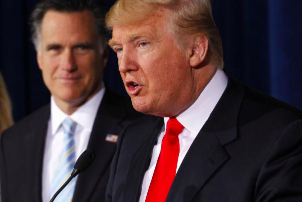 """Billionaire Brawl:  GOP Est. """"Choke Artist"""" Romney Trashes GOP Frontrunner Trump as """"Phony, Fraud"""""""